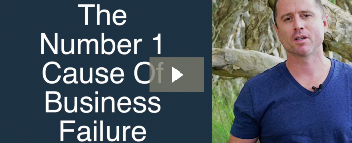 The Number 1 Cause Of Business Failure…